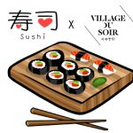 Switch ON vous attend au Village du Soir pour la soirée Wine & Sushis