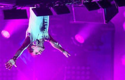 Exploit du célèbre DJ Armin Van Buuren