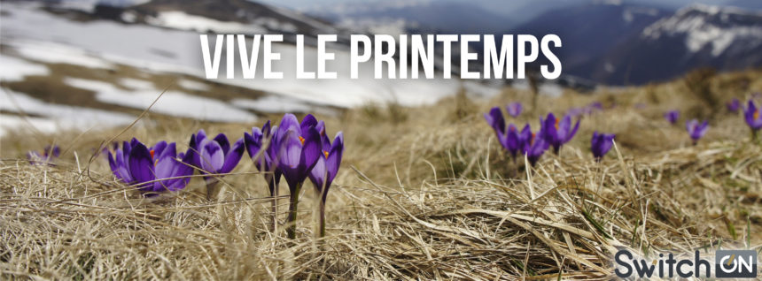 Le printemps arrive mercredi !